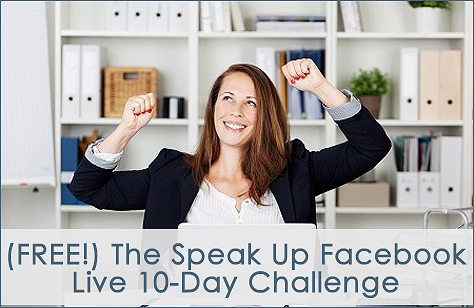 Facebook Live Speak Up Challenge